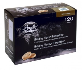 Bradley Hickory Bisquetten 120er Packung